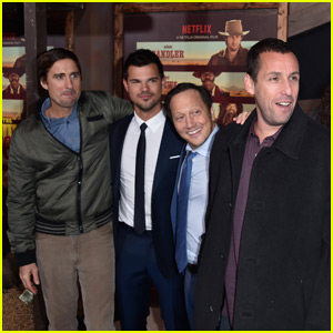 Adam Sandler & Taylor Lautner Premiere 'The Ridiculous 6'