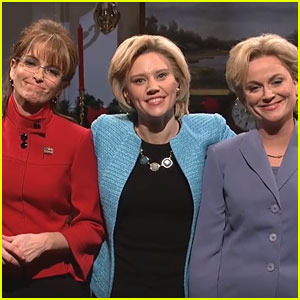 Tina Fey & Amy Poehler on 'SNL': Sarah Palin & Hillary Clinton Return! (Video)
