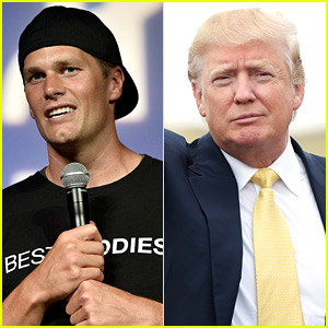 Tom Brady Asked About Possibly Endorsing Donald Trump: 'I Support All My Friends'