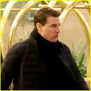 Tom Cruise Heads to Set to Film 'Jack Reacher'