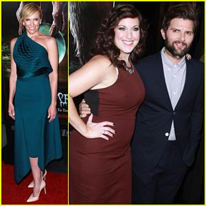 Toni Collette & Adam Scott Bring 'Krampus' To Hollywood - Watch Trailer Here!