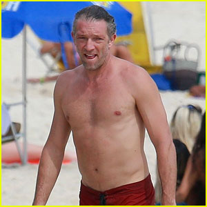 Vincent Cassel Goes Shirtless for Surfing Session