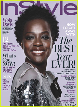 Viola Davis Tells 'InStyle' Why She's Over Her Fear of Aging
