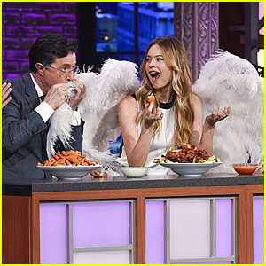 Victoria's Secret Angels Eat Chicken Wings on TV - Watch Now!