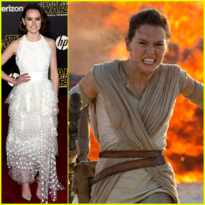 Who is Daisy Ridley? Meet Rey from 'Star Wars: The Force Awakens'