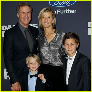 Will Ferrell Brings His Kids to 'Daddy's Home' NYC Premiere
