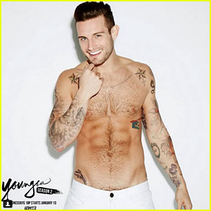 Younger's Nico Tortorella Goes Shirtless for New Calendar