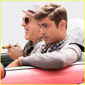 Zac Efron Cruises With Robert De Niro in New 'Dirty Grandpa' Poster