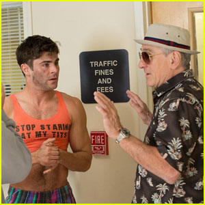 Zac Efron Shares New 'Dirty Grandpa' Photo, Dwayne Johnson Comments 'Nice Tits'