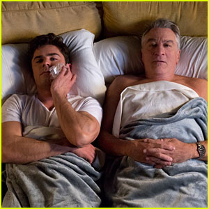 Zac Efron Goes to Bed with Robert De Niro in New 'Dirty Grandpa' Photos