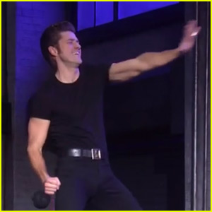 Aaron Tveit's 'Grease: Live' Pelvic Thrusts Are the Talk of Twitter - Watch Now!