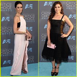 Abigail Spencer & America Ferrera Make Elegant Arrivals at Critics' Choice Awards 2016
