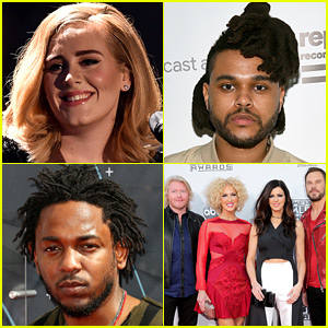 Adele, The Weeknd & More to Perform at Grammys 2016!
