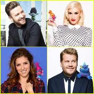 Justin Timberlake & Gwen Stefani Reveal 'Trolls' Characters On Twitter