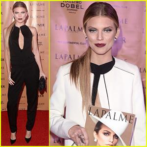 AnnaLynne McCord Celebrates 'La Palme' Cover In Los Angeles