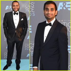 Aziz Ansari & Anthony Anderson Represent TV Comedy Actors at Critics' Choice Awards 2016