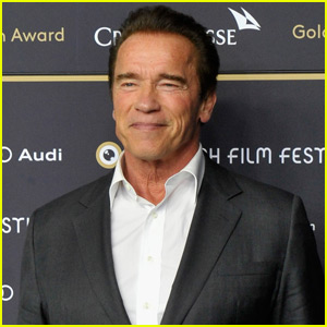 Arnold Schwarzenegger Takes a Snooze...With Himself!