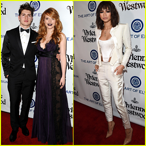 Bella Thorne & Zendaya Heat Up the Red Carpet at the Heaven Gala
