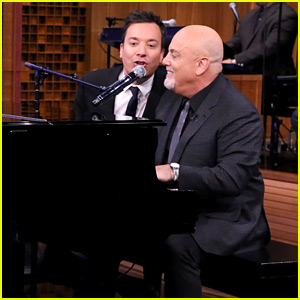 Billy Joel & Jimmy Fallon Sing Impromptu Doo-Wop of 'The Longest Time' - Watch Now!
