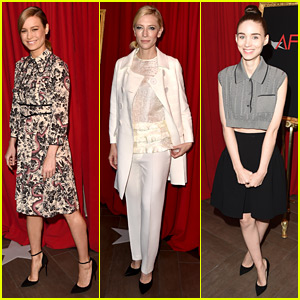 Brie Larson Hits Up AFI Awards 2016 with Carol's Cate Blanchett & Rooney Mara!