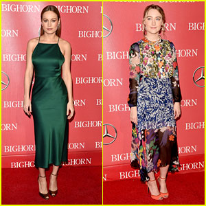 Brie Larson & Saoirse Ronan Honored at Palm Springs Gala