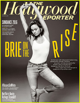 Oscar Nominee Brie Larson Talks Privacy, Her New A-List Status & More with 'THR'
