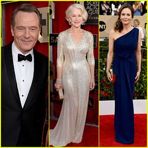 Bryan Cranston & Helen Mirren Represent 'Trumbo' at SAG Awards 2016