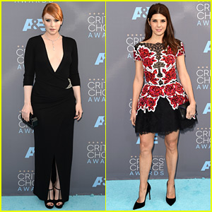 Nominees Bryce Dallas Howard & Marisa Tomei Are All Ready for Critics' Choice Awards 2016
