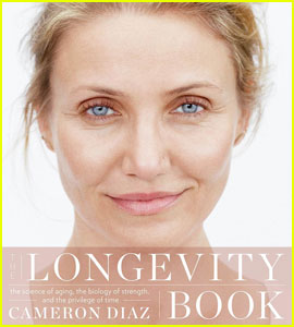 Cameron Diaz Looks Fresh-Faced On Her New Book Cover!