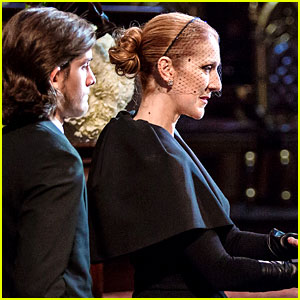 Celine Dion at Rene Angelil's Funeral - Watch Live Stream Video
