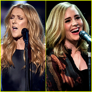 Celine Dion Covers Adele's 'Hello' on New Year's Eve! (Video)