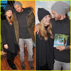 Chad Michael Murray & Wife Sarah Roemer Hit Sundance 2016 with No Clothes