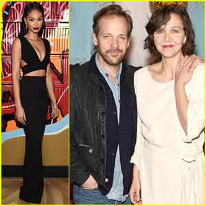 Maggie Gyllenhaal Makes It A Date Night with Hubby Peter Sarsgaard at Vandal Opening
