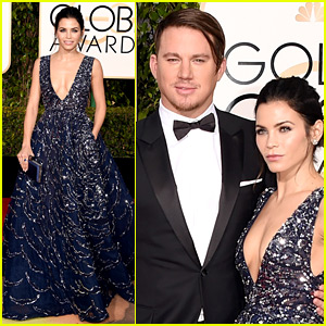 Channing Tatum's Golden Globes Hair Is All the Buzz on Twitter