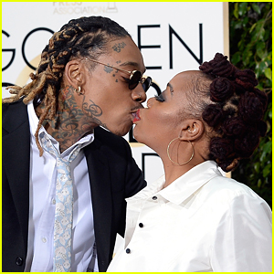 Wiz Khalifa Kisses Mom On Lips At Golden Globes 2016