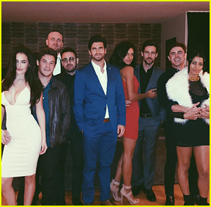 Adam DeVine & Chloe Bridges Ring In 2016 With Zac Efron & Sami Miro