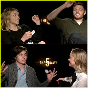Chloe Moretz & '5th Wave' Cast Play Just Jared's 'Lose Da Lyrics' Guessing Game! (Exclusive Video)