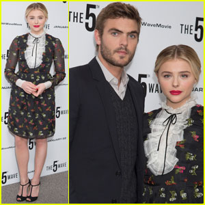 Chloe Moretz & Alex Roe Bring 'The 5th Wave' to London