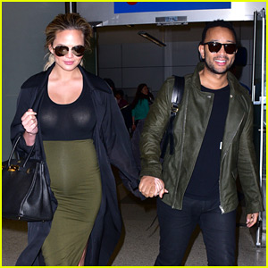 Chrissy Teigen & John Legend Are a Color Coordinated Couple!