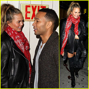 Chrissy Teigen Skips Sundance After Night Out with John Legend