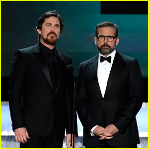 Christian Bale & Steve Carell Take the Stage at SAG Awards 2016