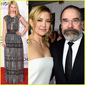 Claire Danes & Mandy Patinkin Rep 'Homeland' at People' Choice Awards 2016