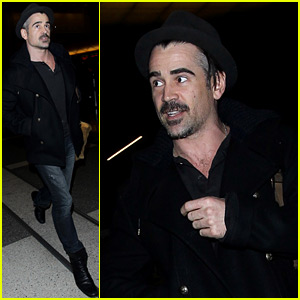 Colin Farrell Flies Out of Town After the New Year Holiday
