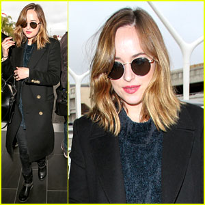 Dakota Johnson Goes Back to Blonde Hair