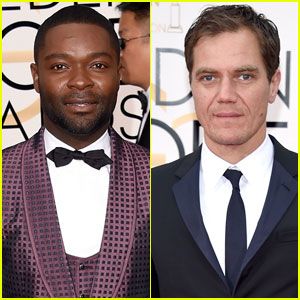 David Oyelowo & Michael Shannon Hit the Golden Globes 2016