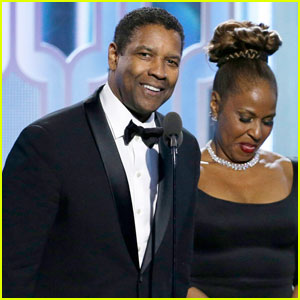 Denzel Washington Accepts Cecil B. DeMille Award at Golden Globes 2016 - Watch His Speech Here!