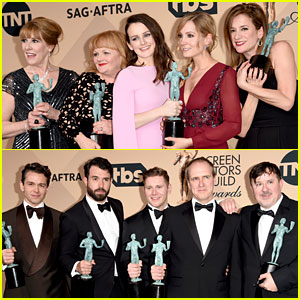 'Downton Abbey' Cast Wins at SAG Awards 2016!