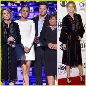Ellen Pompeo & 'Grey's Anatomy' Cast Win Favorite Network TV Drama at People's Choice Awards 2016