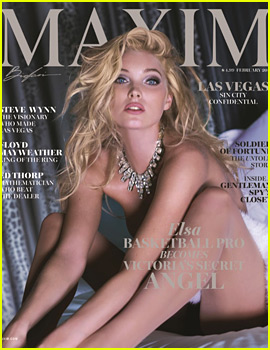 Victoria's Secret Model Elsa Hosk Bares Her Body for 'Maxim'