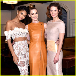 Jaime King & Chanel Iman Are It Girls at 'W' Magazine Lunch!
